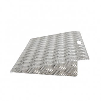 RICMAR Threshold aid 2 Aluminum - height difference 3 to 7 cm - 250 kg - Ricmar