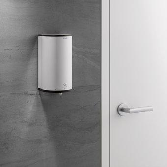 Keuco Foam dispenser Disinfect / hygienic mousse / soap - in aluminum silver-anodised / anthracite - Keuco
