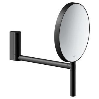 Keuco Cosmetic mirror Plan Black three-dimensional adjustable arm - Keuco
