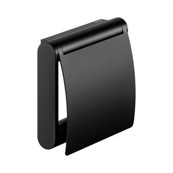 Keuco Toilettenpapierrollenhalter mit Deckel Plan Black Keuco
