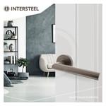 Door fittings Living Anthracite gray from Intersteel