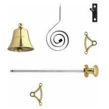 Intersteel Pull bell brass lacquered Intersteel