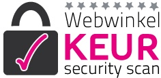 Webwinkelkeur security scan - Vitasel