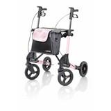 Topro Topro Troja 2G Rollator Standaard M Pink Rose met gratis rugsteun!