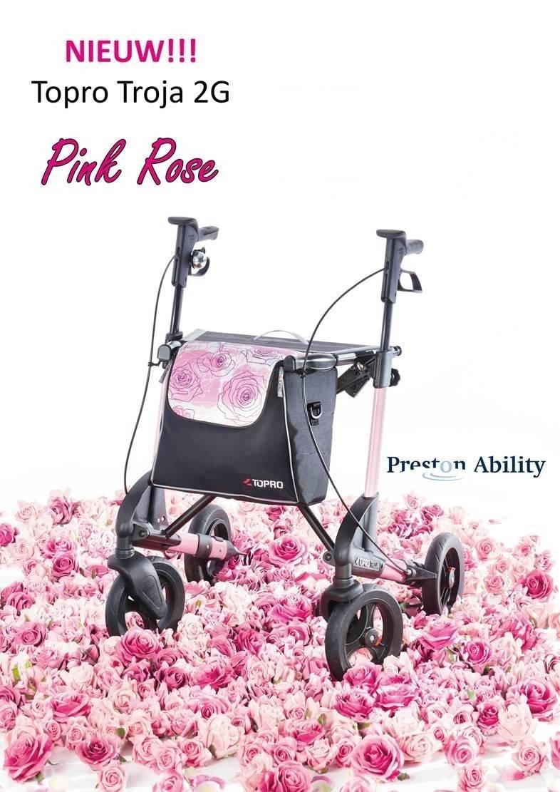 Topro Troja 2G rollater. Nieuwe Kleur!! Pink Rose