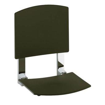 Keuco Duschklappsitz mit Rückenlehne für Wandmontage Keuco Plan Care