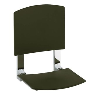 Keuco Shower folding seat with backrest for wall mounting Keuco Plan Care