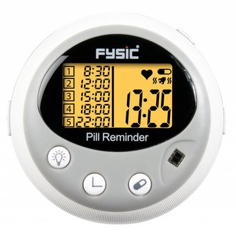 Fysic FC-55 Drug Detector / Pillbox electronically with Heart Rate Monitor