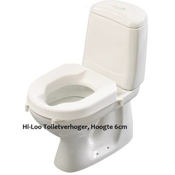 Etac R82 B.V. Hi-Loo toilet seat removable