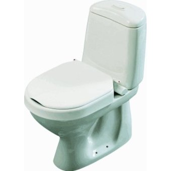 Etac R82 B.V. Hi-Loo toilet seat permanently mounted