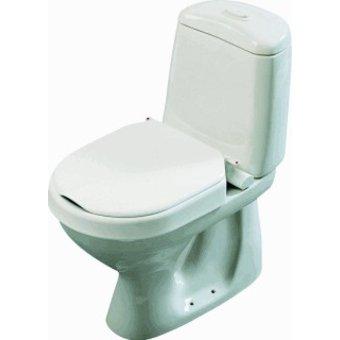 Etac R82 B.V. Hi-Loo Toiletverhoger vast gemonteerd - Etac