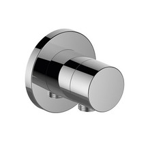 Keuco IXMO Stop valve with wall outlet for shower hose DN 15 (round)