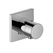 Keuco IXMO Stop valve with wall outlet for shower hose DN 15 (square)