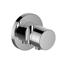 Keuco IXMO Stop valve with wall outlet for shower hose and hand shower bracket DN 15 (round)