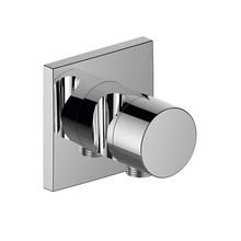 Keuco IXMO Stop valve with wall outlet for shower hose and hand shower bracket DN 15 (square)
