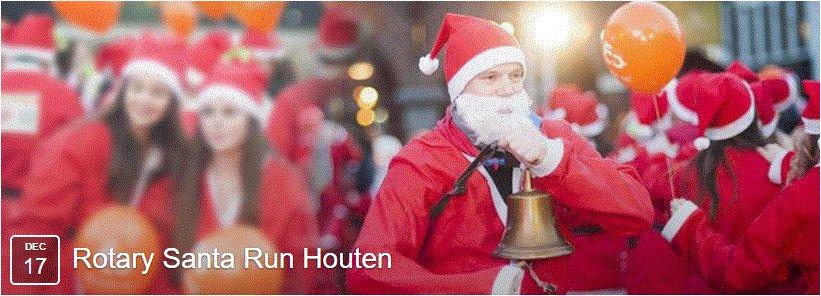 Rotary Santa Run Houten 17 december 2016!