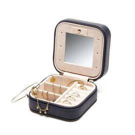 Violet Hamden Boîte à bijoux bleu