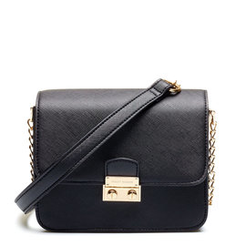 Violet Hamden Evening Star Mini Sac besace Noir Minuit