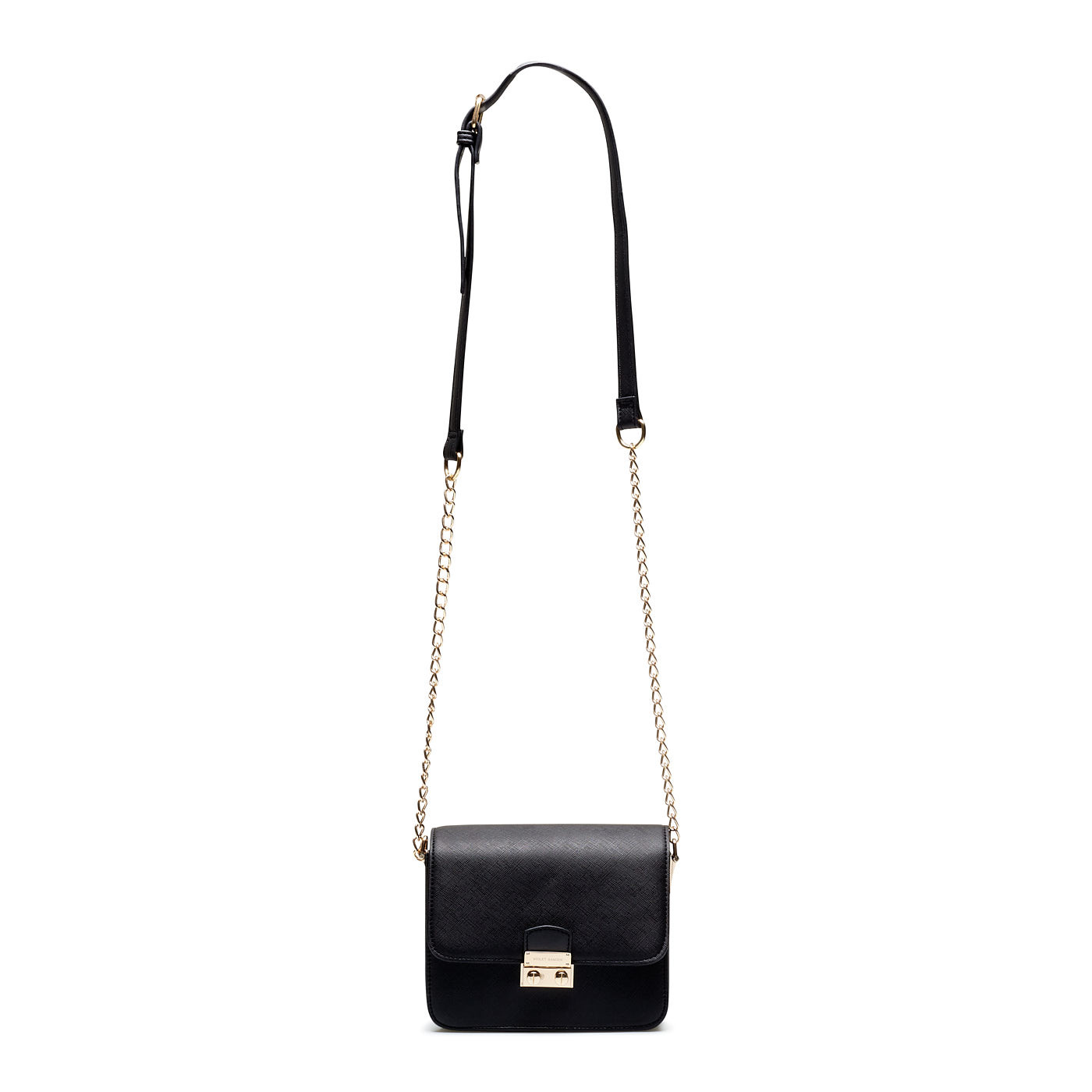 Violet Hamden Evening Star Mini Crossbody Nachtschwarz