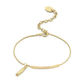 Violet Hamden Sisterhood Phoebe 925 Sterling Silber goldfarbenes Armband mit Stange