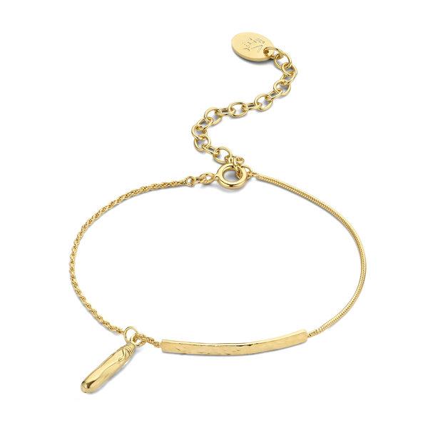 Violet Hamden Sisterhood Phoebe 925 sterling sølv guldfarvet armbånd