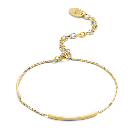 Violet Hamden Sisterhood Moonlit bracciale color oro in argento sterling 925