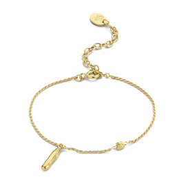 Violet Hamden Sisterhood Mona 925 sterling zilveren goudkleurige armband