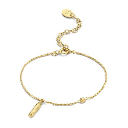 Violet Hamden Sisterhood Mona 925 Sterling Silber goldfarbenes Armband
