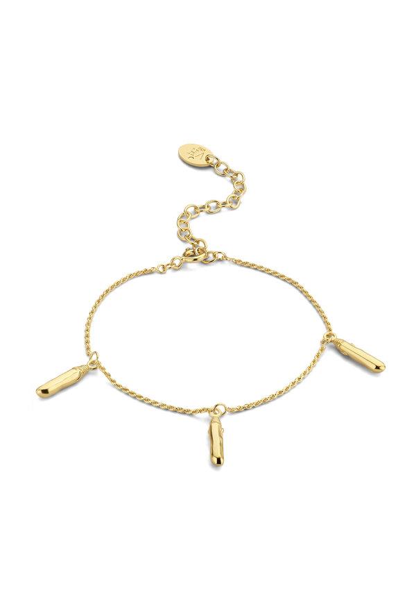 Violet Hamden Sisterhood Mona bracelet en argent sterling 925 de couleur or