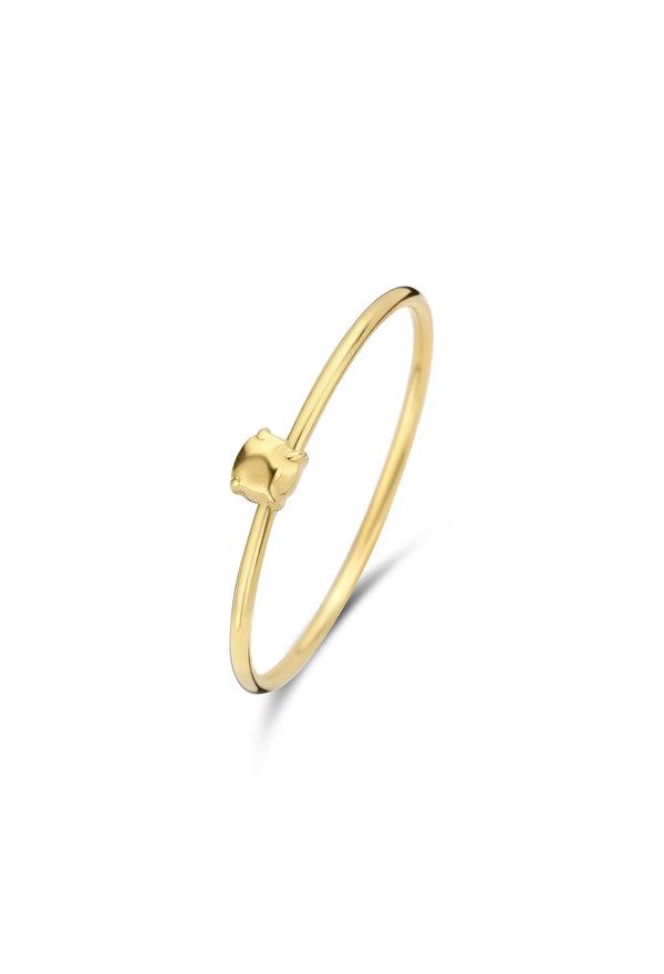 Violet Hamden Sisterhood 925 sterling silver gold colored ring