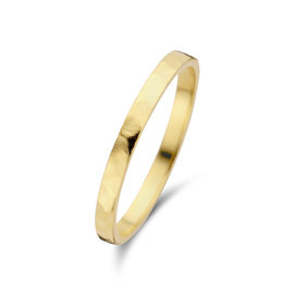 Violet Hamden Goldfarbener Sisterhood Ring aus 925 Sterlingsilber