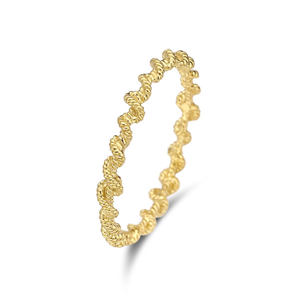Violet Hamden Sisterhood Lunar 925 sterling zilver goudkleurige ring