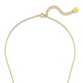 Violet Hamden Sisterhood Phoebe 925 sterling silver gold colored necklace