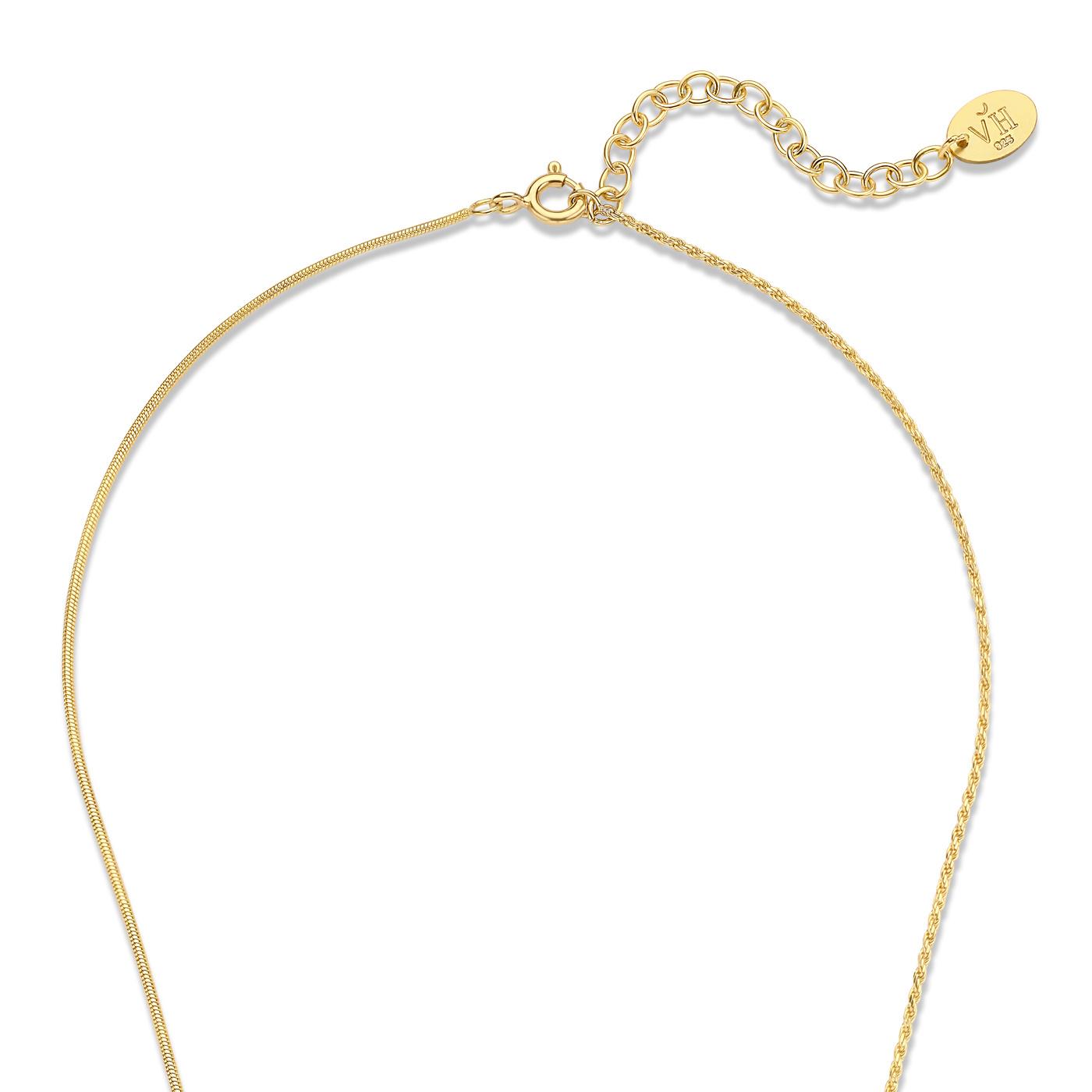Violet Hamden Sisterhood Phoebe 925 sterling silber guldfarvet halskæde