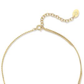 Violet Hamden Sisterhood Moonsister 925 sterling zilver goudkleurige Halsketting