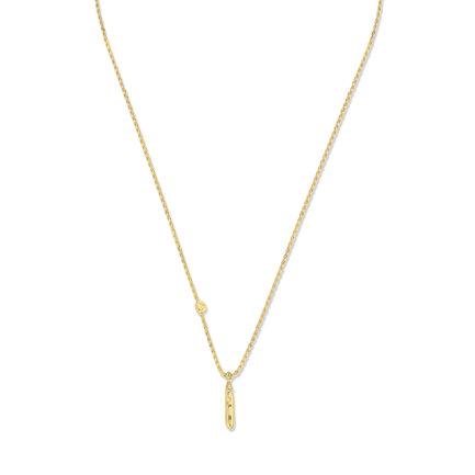 Violet Hamden Sisterhood Mona 925 sterling sølv guldfarvet halskæde