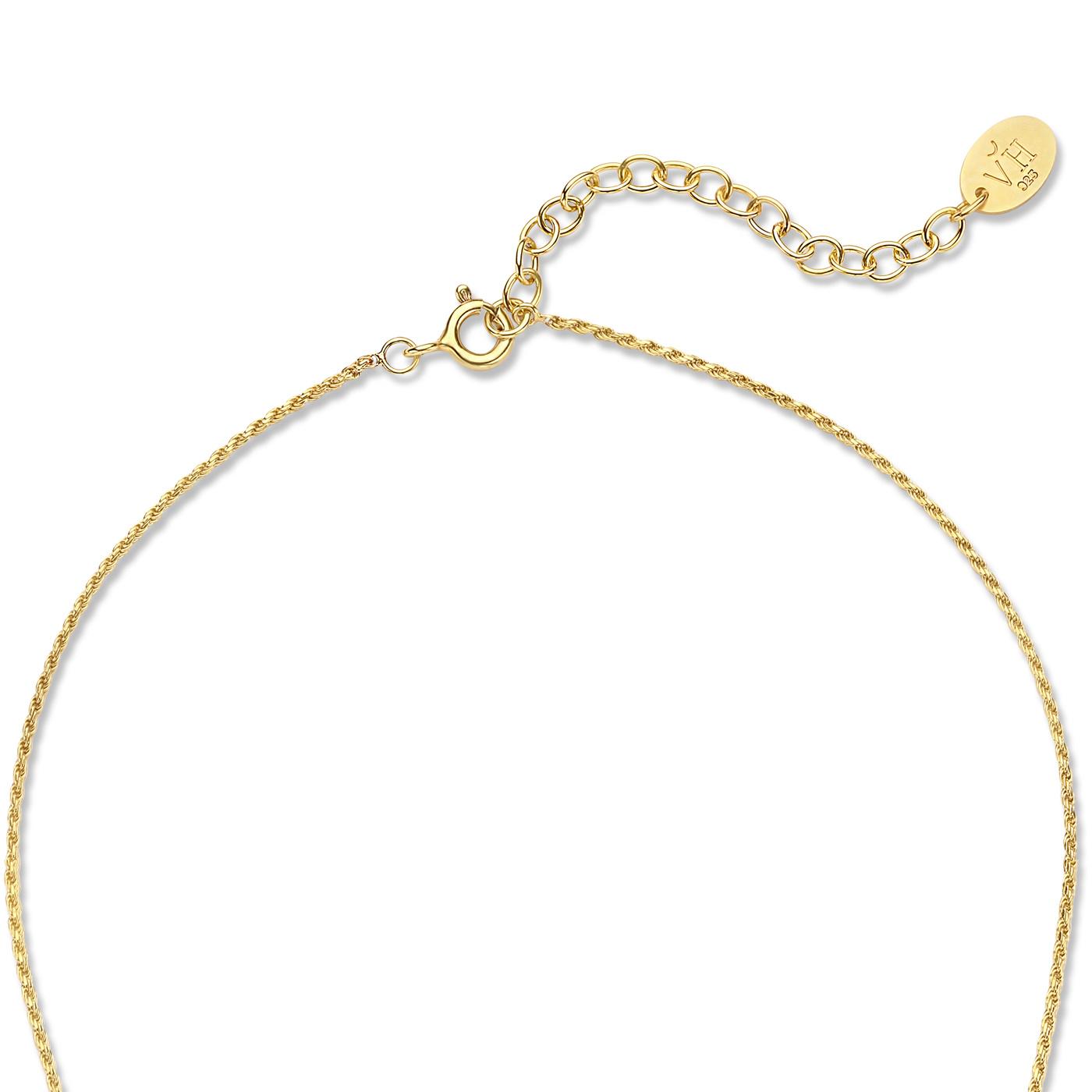 Violet Hamden Sisterhood Solid 925 sterling zilveren goudkleurige ketting