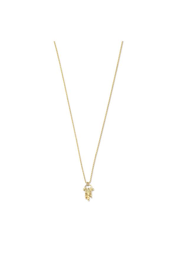 Violet Hamden Sisterhood Solid 925 sterling silver gold colored necklace