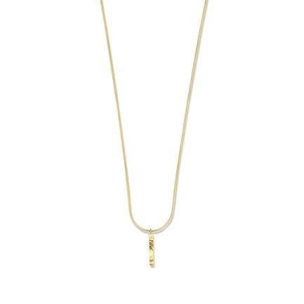 Violet Hamden Sisterhood Moonscape 925 sterling sølv guldfarvet halskæde