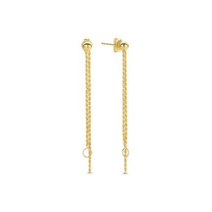 Violet Hamden Sisterhood Stella orecchini pendenti color oro in argento sterling 925