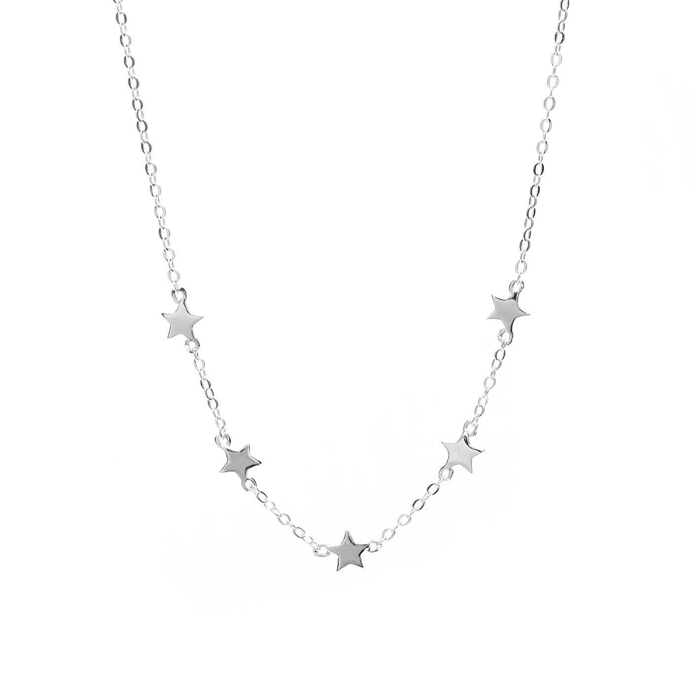 Violet Hamden silverhalsband värt €59,95