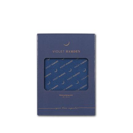 Violet Hamden Panno lucidante per gioielli in argento