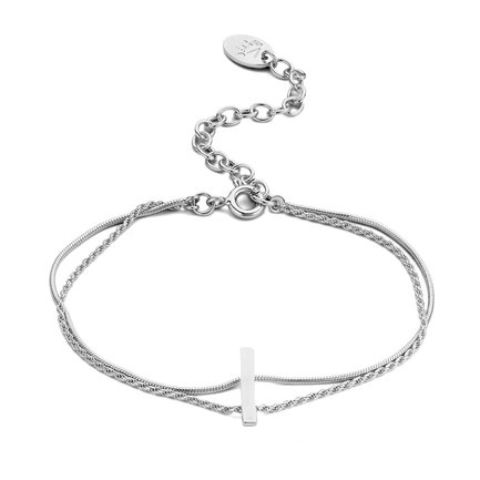 Violet Hamden Sisterhood Moonscape bracciale in argento sterling 925