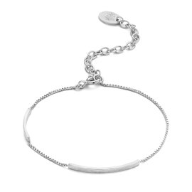 Violet Hamden Sisterhood Moonlit Bracciale in argento sterling 925