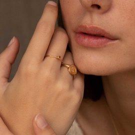 Violet Hamden Sisterhood 925 sterling zilver goudkleurige Ring