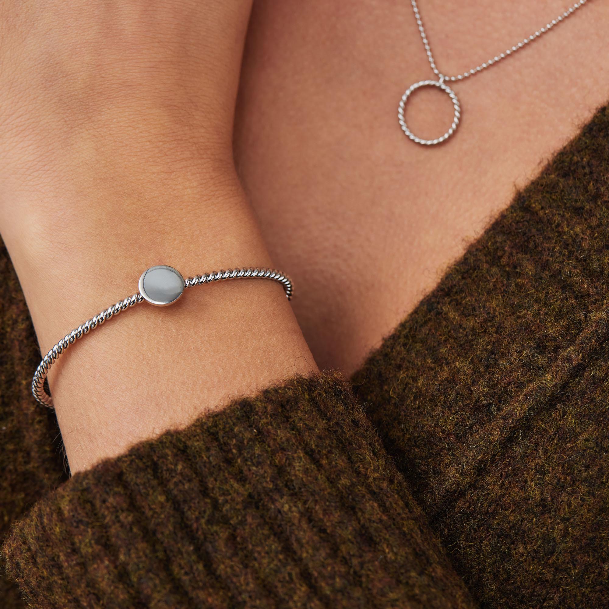 Violet Hamden Luna 925 sterlingsølv smykker gaver