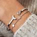 Violet Hamden Luna bracelet en argent sterling 925