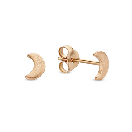 Violet Hamden Luna 925 sterling silver rose gold colored ear studs