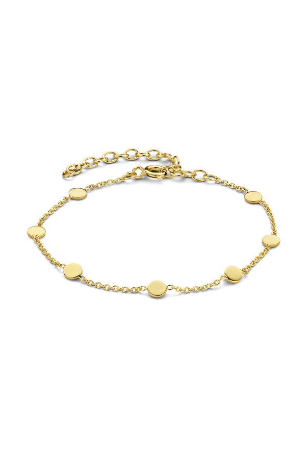 Violet Hamden Luna 925 sterling silver gold bracelet