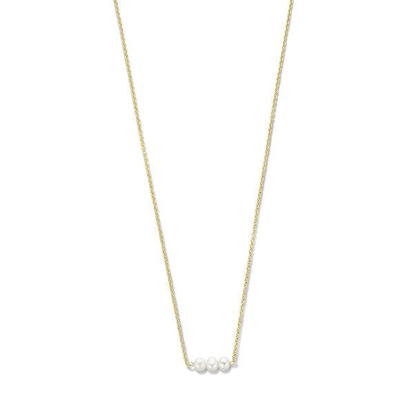 Violet Hamden Luminous Lake collana color oro in argento sterling 925